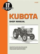 Kubota Shop Manual by Penton Staff and I and T Shop Service Staff (2000,...