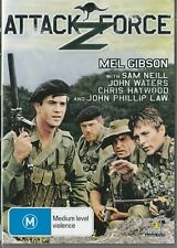 ATTACK FORCE Z - MEL GIBSON - AUSSIE CLASSIC - NEW DVD FREE LOCAL POST