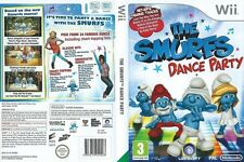 UK THE SMURFS DANCE PARTY=NINTENDO Wii=AGE 3+=PAPA=SMURFETTE=U=24 FAMOUS SONGS