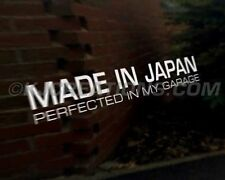 MADE JAPAN JDM Sticker Autocollant Voiture japonais graphique LEXUS mazda mitsubishi nissan