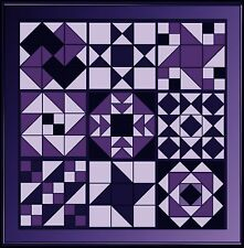 PAPER PATCHWORK QUILT BLOCK TEMPLATES  SAMPLER QUILT  NINE BLOCK  PAPER PIECES