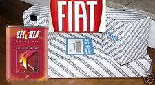 KIT TAGLIANDO FIAT 500 1.2 DAL 2007 2 FILTRI + 4 LT OLIO SELENIA K P.E. 5W40