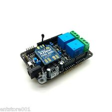 Wireless Relay Shield for Arduino | XBEE | IR Receiver