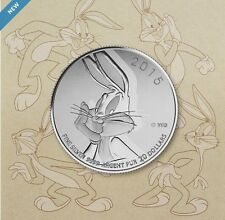 2015 Canada $20 Bugs Bunny Looney Tunes .9999 Fine $20for$20 Silver coin