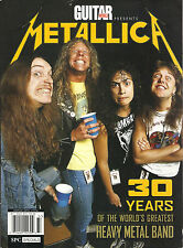NEW! Complete METALLICA 30 YEARS of the World's Greatest Heavy Metal Band Guitar