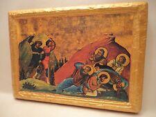 Martyrdom Saints Joseph John Severius Isaac Hypatius Greek Orthodox Icon on Wood