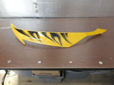 2008-2012 Yamaha YZF600 R6 Panel Fairing Right Side 13S-Y283V Yellow & Flames