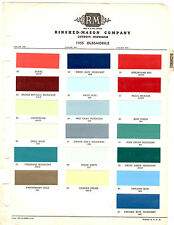 1955 OLDSMOBILE 88 SUPER 88 98 55 PAINT CHIPS RINSHED MASON 3