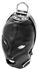 Bondage Bdsm Leather Mask with O-ring 50 shades of grey   theater reenactment