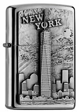 NEUHEIT 2016 ZIPPO Feuerzeug NEW YORK - ONE WORLD TRADE CENTER NEU OVP