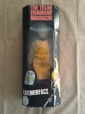 Leatherface Texas Chainsaw Massacre 18 Inch  Figure Doll RIP Collector Series