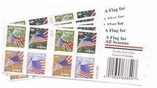 100 USPS Stamps Flags for All Seasons Forever Stamps Mail Collection Collector