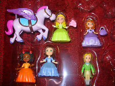 NWOT Disney Sofia the First Jade Ruby James Amber Minimus Figures Just Play 8