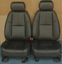 2014 2013 2012 Suburban Front Seats In Black Leather With AN3 Power Option.