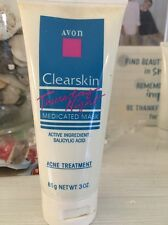 AVON*CLEARSKIN THURSDAY NIGHT MEDICATED MASK*OILY ACNE*NET WT 3 OZ*NEW OLD STOC