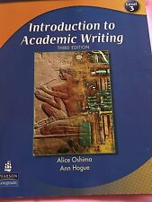 Introduction To Academic Writing 3rd edition Alice Oshima Ann Hogue