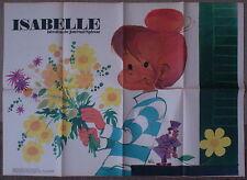 SPIROU n°1696    ***  POSTER ISABELLE  ***   OCTOBRE 1970