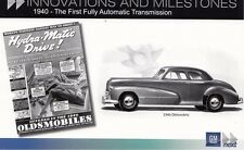 "1940 OLDSMOBILE  FULLY AUTOMATIC TRANS""GM PHOTO STORE"" ORIGINAL  4"" X 6""  CARD"
