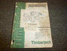 Timberjack 360D 460D 560D Cable Skidder Service Repair Shop Manual TM1880