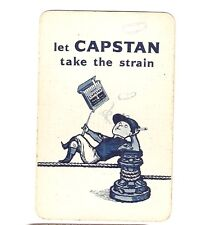 RARE VINTAGE CAPSTON CIGARETTES SINGLE PLAYING CARD