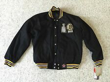 NWT NHL 2011 BOSTON BRUINS STANLEY CUP WINTER JACKET / COAT  2XL Reversible