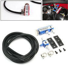 Universal Adjustable Racing Turbo 30PSI Manual Boost Bypass Controller Kit Blue