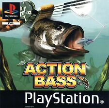 Acción Bass (PS), buena Playstation, Playstation Video Juegos