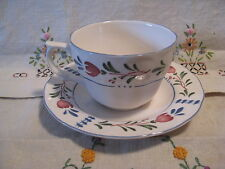 Dishware Avondale by Nikko Cup and Saucer Set Provencial Designs VGC