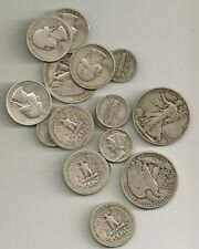 *90% Silver USA Coins $1.50 face value ALL HALVES lot of 3