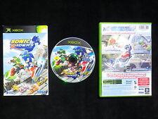 JEU vidéo Microsoft XBOX : SONIC RIDERS (Sega COMPLET envoi suivi)