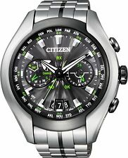 Citizen Mens Promaster Satellite Wave Air Titanium watch. CC1054-56E, CC1055-53E