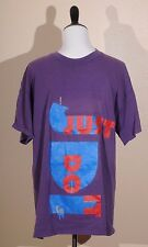 "Nike Purple Blue Red T-Shirt ""Just Do It"" Vintage Men's Size Sz Extra Large XL"