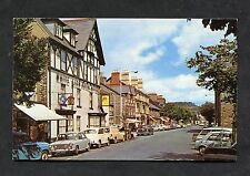 C1970's View of the High Street, Bala, Wales.