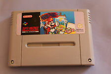 SNES Super Nintendo Pal Game Cartridge MARIO PAINT Ship Worldwide