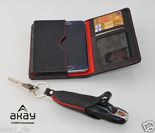 WALLET for SAMSUNG s7 + KEY cases for Porsche Cayman Boxster Cayenne 911