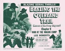 Blazing the Overland Trail - Classic Cliffhanger Serial Movie DVD Lee Roberts