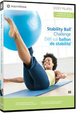 Stott Pilates: Stability Ball Challenge (2007, REGION 1 DVD New) Mer400