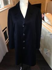 LONDON FOG Men's Raincoat Raincoat Trench Dk Navy 36 S EXCELLENT USED CONDITION!