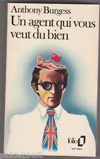 un agent qui vous veut du bien - Anthony Burgess. TB état. 1978.