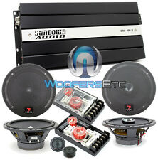 "pkg3 FOCAL 165A1 6.5"" COMP + 165CA1 COAXIAL SPEAKERS + SAX100.4V2 4-CH AMPLIFIER"