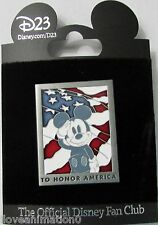 Treasures of the Walt Disney Archives The Reagan Library Honor America Pin