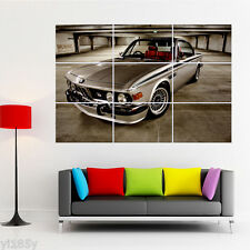 BMW E30 CLASSIC CAR Poster Large Print Giant Wall Art G2