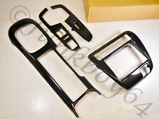 97-01 HONDA PRELUDE GENUINE OPTIONAL OEM CARBON FIBER FIBRE TRIM KIT BEZEL