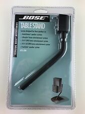 NEW Genuine Bose Table Stand UTS-20B Acoustimass Lifestyle 3-2-1 Speaker Systems