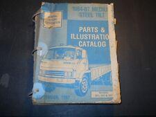 1984 85 86 87 GMC MEDIUM STEEL TILT TRUCK PARTS AND ILLUSTRATION CATALOG 9/1987