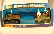 MATCHBOX Super Kings K32 camion Farm Unimog moutons neuf en boite de 1978