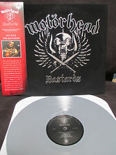 MOTORHEAD BASTARDS Velvet Jacket Limited Ed. Silver LP Lemmy Born to Raise Hell