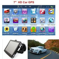"7"" HD Touch Screen CAR TRUCK 8GB GPS Navigation Navigator SAT NAV New Sale Gift"