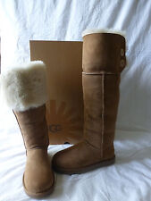 Ugg Australia Bailey Over The Knee Boots Chestnut Size 8 New In Box