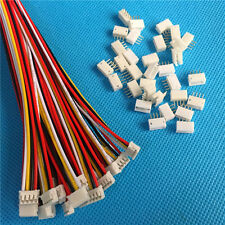 40 SETS Mini Micro ZH 1.5 4-Pin JST Connector with Wires Cables